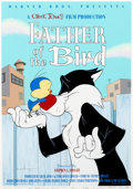 """Animation Art:Poster, """"Father of the Bird"""" Sylvester and Cornbread Limited Edition Fine Art Print #209/500 (Warner Brothers, 1997)...."""