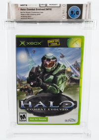 Halo: Combat Evolved (NFR) (Xbox, Microsoft, 2001) Wata 9.0 CIB (Complete in Box) Box 8.5, Disc 9.2, Manual 9.4