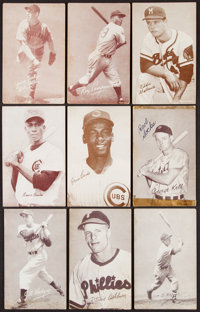 1947-66 Exhibits Baseball Collection (57)