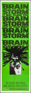 Movie Posters:Thriller, Brainstorm (Warner Brothers, 1965). Folded, Very Fine-.