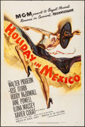 Movie Posters:Musical, Holiday in Mexico (MGM, 1946). Folded, Very Fine-....
