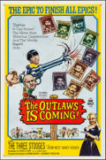 Movie Posters:Comedy, The Outlaws is Coming (Columbia, 1965). Folded, Very Fine....
