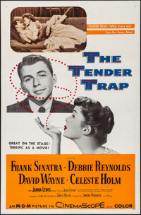 "The Tender Trap & Other Lot (MGM, 1955). Folded, Very Fine-. One Sheets (2) (27"" X 41""). Comedy. ... (..."