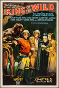 Movie Posters:Serial, King of the Wild (Mascot, 1931). Fine+ on Linen. O...