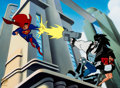 "Animation Art:Seriograph, Superman ""The Main Man"" Lobo Limited Edition Serigraph Cel #139/500 (Warner Bros., 1996)...."