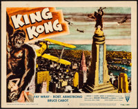"King Kong (RKO, R-1956). Very Fine-. Lobby Card (11"" X 14""). Horror"