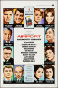 Movie Posters:Drama, Airport & Other Lot (Universal, 1970). Folded, Very Fine-....