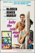 Movie Posters:Drama, Baby the Rain Must Fall & Other Lot (Columbia, 1965). Fold...