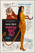 "Movie Posters:Comedy, What's Up, Tiger Lily? (American International, 1966). Folded,Fine/Very Fine. One Sheet (27"" X 41""). Comedy.. ..."