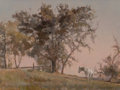 Paintings:20th Century, Carroll Collier (American, 1923-2017). Horse at Dusk. Oil on canvas. 17-3/4 x 24-1/4 inches (45.1 x 61.6 cm). Signed low...