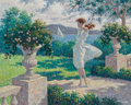 Fine Art - Painting, American:Modern  (1900 1949), Arthur Saron Sarnoff (American, 1912-2000). Bay View. Oil oncanvas. 24 x 30 inches (61.0 x 76.2 cm). Signed lower right...