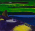 Paintings:Contemporary, Yitzhak Livneh (Israeli, b. 1952). Street Light, 1987. Oil on canvas. 28 x 32 inches (71.1 x 81.3 cm). Signed lower left...