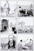 Original Comic Art:Panel Pages, Etienne Davodeau Les ignorants Planche originale (Futuropolis, 2011)....