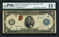 Fr. 851a $5 1914 Federal Reserve Note PMG Choice Fine 15 Net