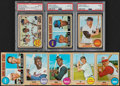 Baseball Cards:Sets, 1968 Topps Baseball Near Set (595/598). ...