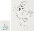 Animation Art:Production Drawing, Oliver and Company Animation Layout Drawings Group of 92 (Walt Disney, 1988)....