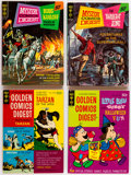Bronze Age (1970-1979):Miscellaneous, Golden Comics Digest Plus Group of 8 (Gold Key, 1969-73) Condition:Average VF/NM....