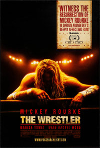 """The Wrestler (Fox Searchlight, 2008). Rolled, Very Fine. One Sheet (27"""" X 40"""") SS Advance. Sports"""