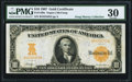 Large Size:Gold Certificates, Fr. 1169a $10 1907 Gold Certificate PMG Very Fine 30.. ...