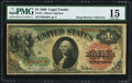 Large Size:Legal Tender Notes, Fr. 18 $1 1869 Legal Tender PMG Choice Fine 15.. ...