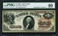 Large Size:Legal Tender Notes, Fr. 30 $1 1880 Legal Tender PMG Extremely Fine 40.. ...