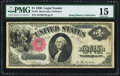 Large Size:Legal Tender Notes, Fr. 34 $1 1880 Legal Tender PMG Choice Fine 15.. ...