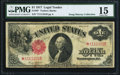 Large Size:Legal Tender Notes, Fr. 36* $1 1917 Legal Tender PMG Choice Fine 15.. ...