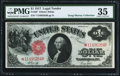Large Size:Legal Tender Notes, Fr. 38* $1 1917 Legal Tender PMG Choice Very Fine 35.. ...