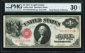 Large Size:Legal Tender Notes, Fr. 39m $1 1917 Mule Legal Tender PMG Very Fine 30 EPQ.. ...