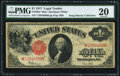 Large Size:Legal Tender Notes, Fr. 39m* $1 1917 Mule Legal Tender PMG Very Fine 20.. ...