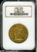 Early Eagles: , 1804 $10 Crosslet 4 AU53 NGC....