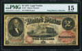 Large Size:Legal Tender Notes, Fr. 47 $2 1875 Legal Tender PMG Choice Fine 15.. ...