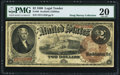 Large Size:Legal Tender Notes, Fr. 50 $2 1880 Legal Tender PMG Very Fine 20.. ...