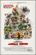"""Movie Posters:Comedy, Animal House (Universal, 1978). Very Fine on Linen. One Sheet (27""""X 40.75"""") Style B, Rick Meyerowitz Artwork. Comedy.. ..."""