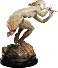 Richard MacDonald (American, b. 1946) Piper, 1978 Bronze with polychrome 25 inches (63.5 cm) high
