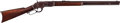Long Guns:Lever Action, Winchester First Model 1873 Lever Action Rifle.. ...