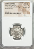 Ancients:Ancient Lots , Ancients: ANCIENT LOTS. Roman Imperial. Ca. AD 238-249. Lot of four(4) AR antoniniani. NGC Choice VF-AU.... (Total: 4 coins)