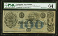 Obsoletes By State:Louisiana, New Orleans, LA- New Orleans Canal & Banking Co. $100 18__ Remainder PMG Choice Uncirculated 64.. ...