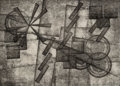 Prints & Multiples:Print, Rolph Scarlett (Canadian/American, 1889-1984). Untitled (Geometic Abstraction). Monotype on paper. 6-5/8 x 9-1/4 inches ...