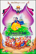 """Movie Posters:Animation, Snow White and the Seven Dwarfs & Other Lot (Buena Vista, R-1993). Rolled, Overall: Very Fine+. One Sheets (2) (27"""" X 40"""") D... (Total: 2 Items)"""