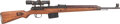 Long Guns:Semiautomatic, Exceptional Late-War German K43 (qve 45) Semi-Automatic Rifle Complete With ZF4 Scope, Original Manual and More.. ...