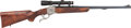 Long Guns:Single Shot, Engraved Ruger No. 1 Single Shot Rifle with Telescopic Sight....