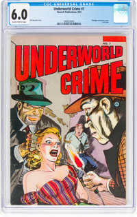Underworld Crime #7 (Fawcett Publications, 1953) CGC FN 6.0 Slightly brittle pages