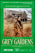 "Movie Posters:Documentary, Grey Gardens (Portrait Releasing, 1976). Rolled, Very Fine+. Full-Bleed New York One Sheet (27"" X 41"") Herb Goro Photography..."