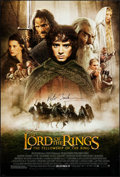 "Movie Posters:Fantasy, The Lord of the Rings: The Fellowship of the Ring (New Line, 2001).Rolled, Very Fine. Autographed One Sheet (27"" X 40""). SS..."