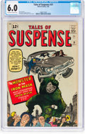 Silver Age (1956-1969):Adventure, Tales of Suspense #31 (Marvel, 1962) CGC FN 6.0 Off-white to white pages....