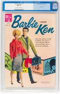 Silver Age (1956-1969):Miscellaneous, Barbie and Ken #2 (Dell, 1962) CGC NM 9.4 Cream to off-white pages....