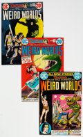 Bronze Age (1970-1979):Miscellaneous, Weird Worlds #1-9 Group (DC, 1972-74) Condition: Average VF+....