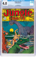 Golden Age (1938-1955):Adventure, Jungle Comics #11 (Fiction House, 1940) CGC VG 4.0 Off-white to white pages....