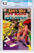 Silver Age (1956-1969):War, Our Army at War #171 (DC, 1966) CGC NM- 9.2 Off-white to white pages....